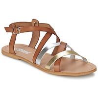Boty Ženy Sandály So Size AVELA Oříšková