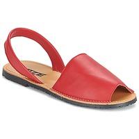 Boty Ženy Sandály So Size LOJA Červená