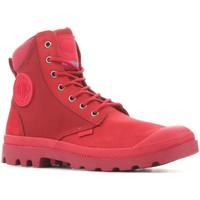 Boty Kotníkové boty Palladium Pampa Sport Cuff WPN 73234-653 red