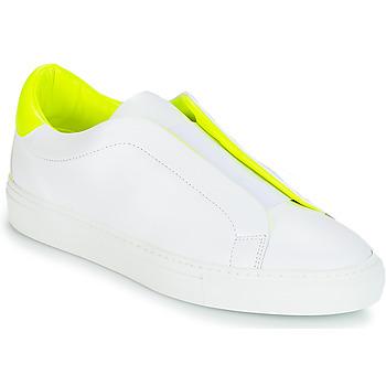 Boty Ženy Nízké tenisky KLOM KISS Bílá / Žlutá