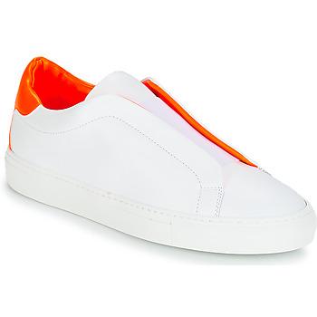Boty Ženy Nízké tenisky KLOM KISS Bílá / Oranžová