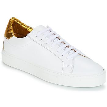 Boty Ženy Nízké tenisky KLOM KEEP Bílá / Zlatá