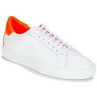 Boty Ženy Nízké tenisky KLOM KEEP Bílá / Oranžová