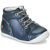 Boty Dívčí Kotníkové boty GBB ROSEMARIE Tmavě modrá