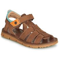 Boty Chlapecké Sandály GBB PATHE Hnědá