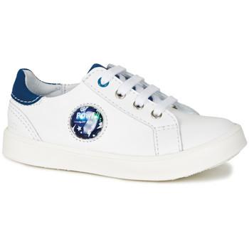 Boty Chlapecké Nízké tenisky GBB URSUL Bílá-modrá