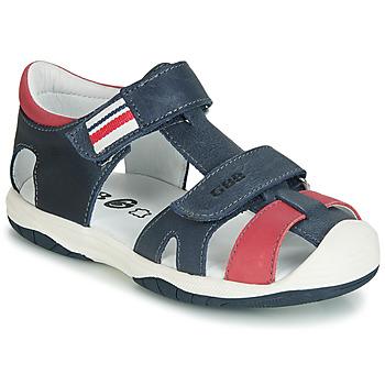 Boty Chlapecké Sandály GBB BERTO Tmavě modrá / Červená