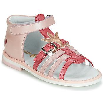 Boty Dívčí Sandály GBB CARETTE Růžová