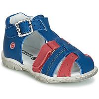 Boty Chlapecké Sandály GBB ARIGO Modrá / Červená