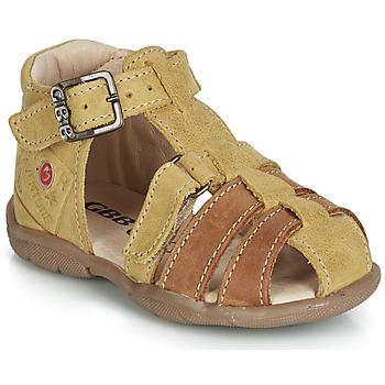 Boty Chlapecké Sandály GBB PRIGENT Hořčicová