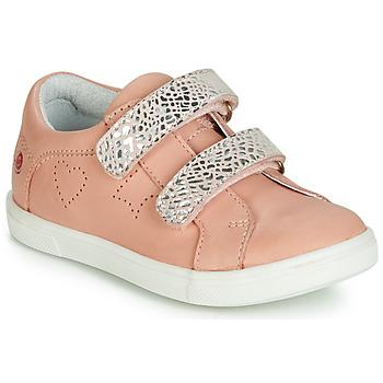 Boty Dívčí Nízké tenisky GBB BALOTA Růžová - stříbrná