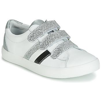Boty Dívčí Nízké tenisky GBB MADO Bílá / Stříbrná