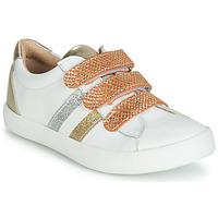 Boty Dívčí Nízké tenisky GBB MADO Bílá / Zlatá
