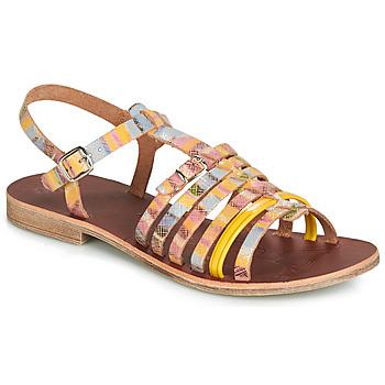 Boty Dívčí Sandály GBB BANGKOK Žlutá