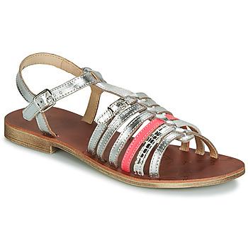 Boty Dívčí Sandály GBB BANGKOK Stříbrná