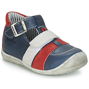 Boty Chlapecké Sandály Catimini TIMOR Tmavě modrá / Červená