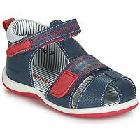Boty Chlapecké Sandály Catimini BALIMO Tmavě modrá / Červená