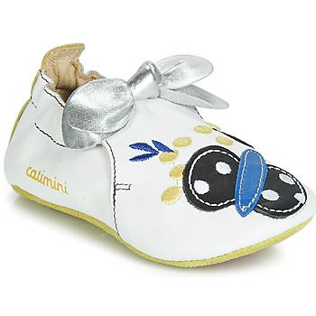 Boty Dívčí Papuče Catimini CATIVA Bílá