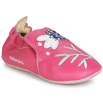 Boty Dívčí Papuče Catimini CASSIA Růžová