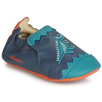 Boty Chlapecké Papuče Catimini CADANO Tmavě modrá / Oranžová