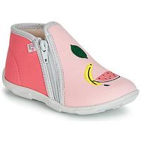 Boty Dívčí Papuče GBB FERNANDA Růžová
