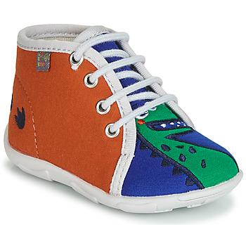 Boty Chlapecké Papuče GBB MARCCO Oranžová / Modrá