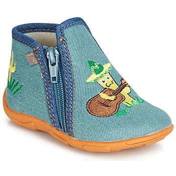 Boty Chlapecké Papuče GBB FERNANDO Modrá