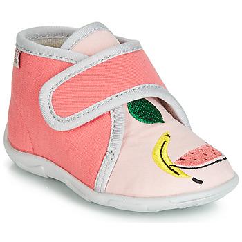 Boty Dívčí Papuče GBB MASSINA Růžová