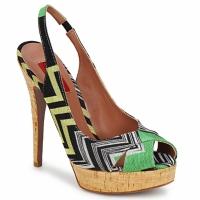 Boty Ženy Sandály Missoni RM71 Zelená