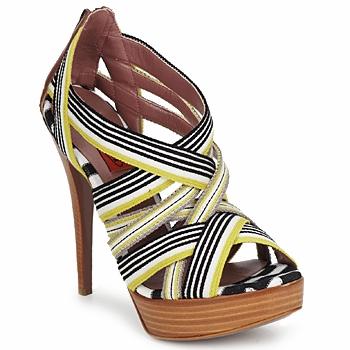 Boty Ženy Sandály Missoni RM20 Žlutá / Bílá