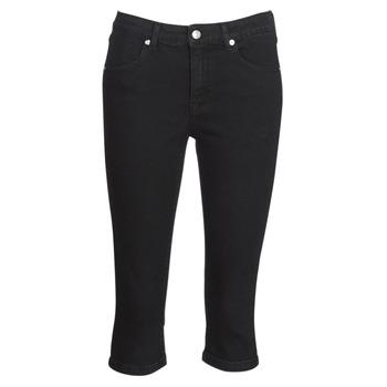 Textil Ženy Tříčtvrteční kalhoty Yurban JATARA Černá