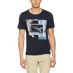 Textil Muži Trička s krátkým rukávem Producent Niezdefiniowany Lee® Photo Tee 60QEPS blue