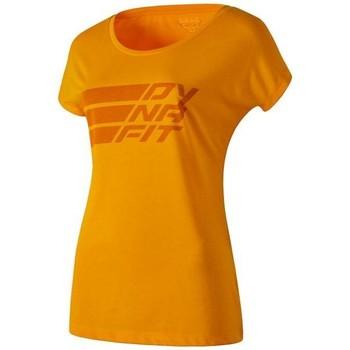 Textil Ženy Trička s krátkým rukávem Dynafit Compound Dri-Rel Co W S/s Tee 70685-4630 orange