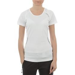 Textil Ženy Trička s krátkým rukávem Dare 2b T-shirt  Acquire T DWT080-900 white