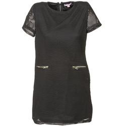 Textil Ženy Krátké šaty Moony Mood BALA Černá