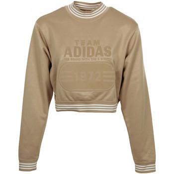 adidas Mikiny Fashion League Sweat - Zlatá