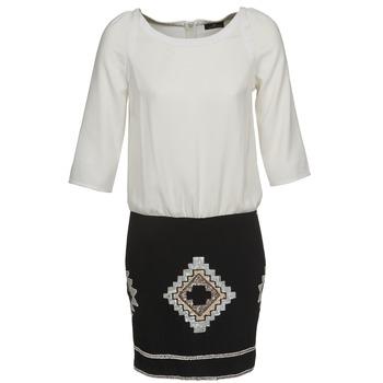Textil Ženy Krátké šaty One Step RAMBOUTAN Bílá / Černá