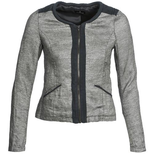Textil Ženy Saka / Blejzry One Step VALSE Šedá / Tmavě modrá