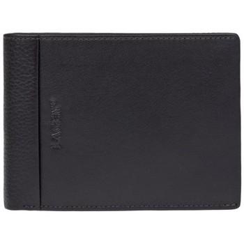 Taška Muži Peněženky Lagen 5819 tmavě hnědá pánská kožená peněženka Hnědá-tmavě