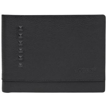Taška Muži Peněženky Lagen V-29 černá pánská kožená peněženka Černá