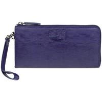 Taška Ženy Náprsní tašky Lagen 11228 fialová dámská kožená peněženka Fialová