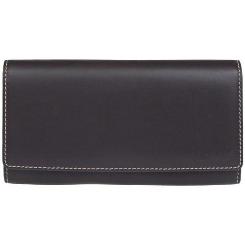 Taška Ženy Náprsní tašky Lagen 11230 hnědo šedá dámská kožená peněženka Hnědá/šedá