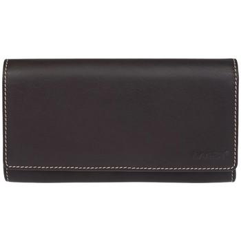 Taška Ženy Náprsní tašky Lagen 11230 hnědo oranžová dámská kožená peněženka Hnědá/oranžová