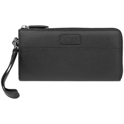 Taška Ženy Náprsní tašky Lagen 11228 černá dámská kožená peněženka Černá