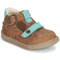Boty Chlapecké Sandály GBB AREZO Hnědá / Modrá