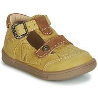 Boty Chlapecké Sandály GBB AREZO Hořčicová