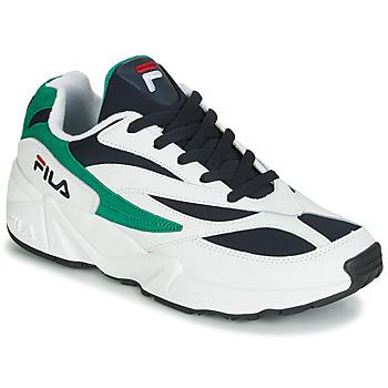 57a541ae5ee1 Boty Muži Nízké tenisky Fila VENOM LOW Bílá   Zelená