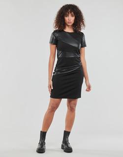 Textil Ženy Krátké šaty Moony Mood JOULOU Černá