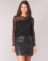 Textil Ženy Halenky / Blůzy Moony Mood JOULETTE Černá