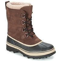 Boty Muži Zimní boty Sorel CARIBOU Hnědá
